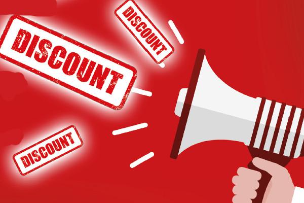 Bulk Discounts Now Available